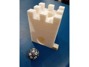 Literal Dice Tower
