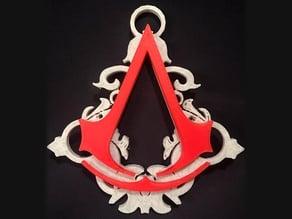 Assassin's Creed Ornament (multi-colour remix)