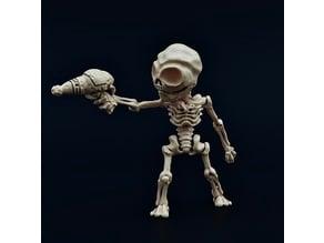 Skeletal Zeta-Reticulan Minion