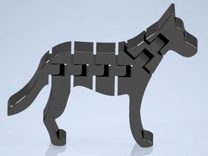 Flexi Dog (German Shepherd)