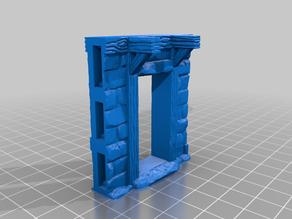 OpenForge 2.0 Facade Stone Brick Doorways with working doors