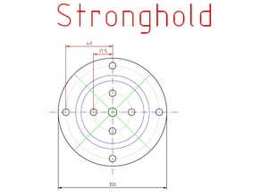 Woodturning Chuck Jaw Plan (Stronghold)