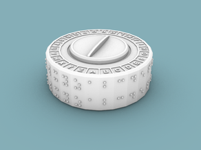 NICERC Braille Cipher Disk 2.0