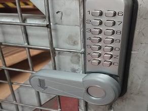 Code lock handle (Outside)