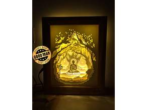 Lamp buda lightbox