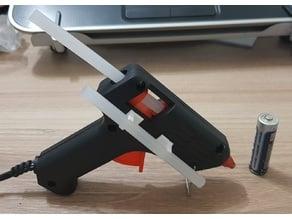 Hot glue gun spare holder