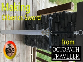 Olberics Sword from Octopath Traveler