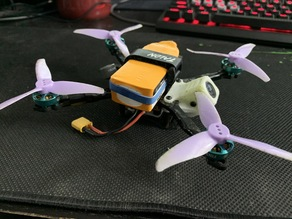 """Toothpick FPV frame - Gohan 3"""" (144mm) - Low profile top mount"""