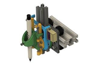 Z-axis servo/Stepper motor Pen Plotter mount for V-Slot