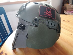 Airsoft Helmet Ear Protection