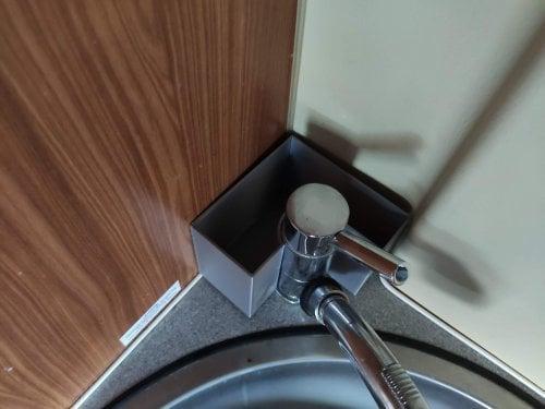 Ablagebehälter Wohnmobil Bad