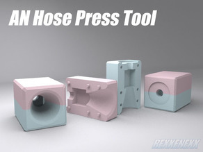 AN Hose Press Tool