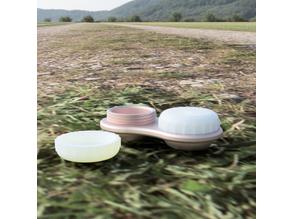 Contacts lens case