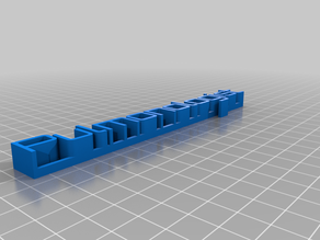 pMy Customized 3D name plate