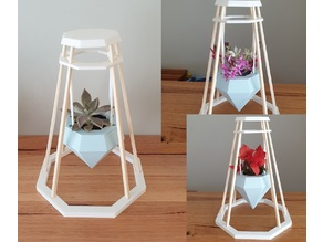 Chopstick plant or flower stand