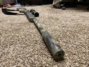 JG Bar 10 Suppressor (Knurled)