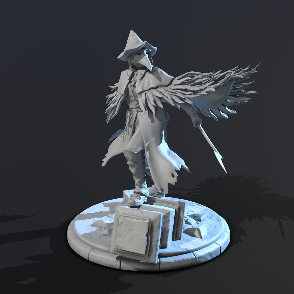 Eileen the Crow - 75mm figure