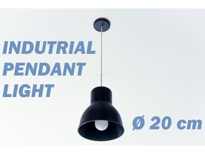 Industrial pendant light 20 cm