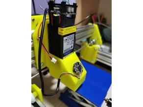 Laser Engraver hood/extractor, camera holder