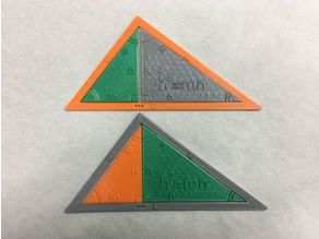 Right Triangle: Geometric Mean Theorem