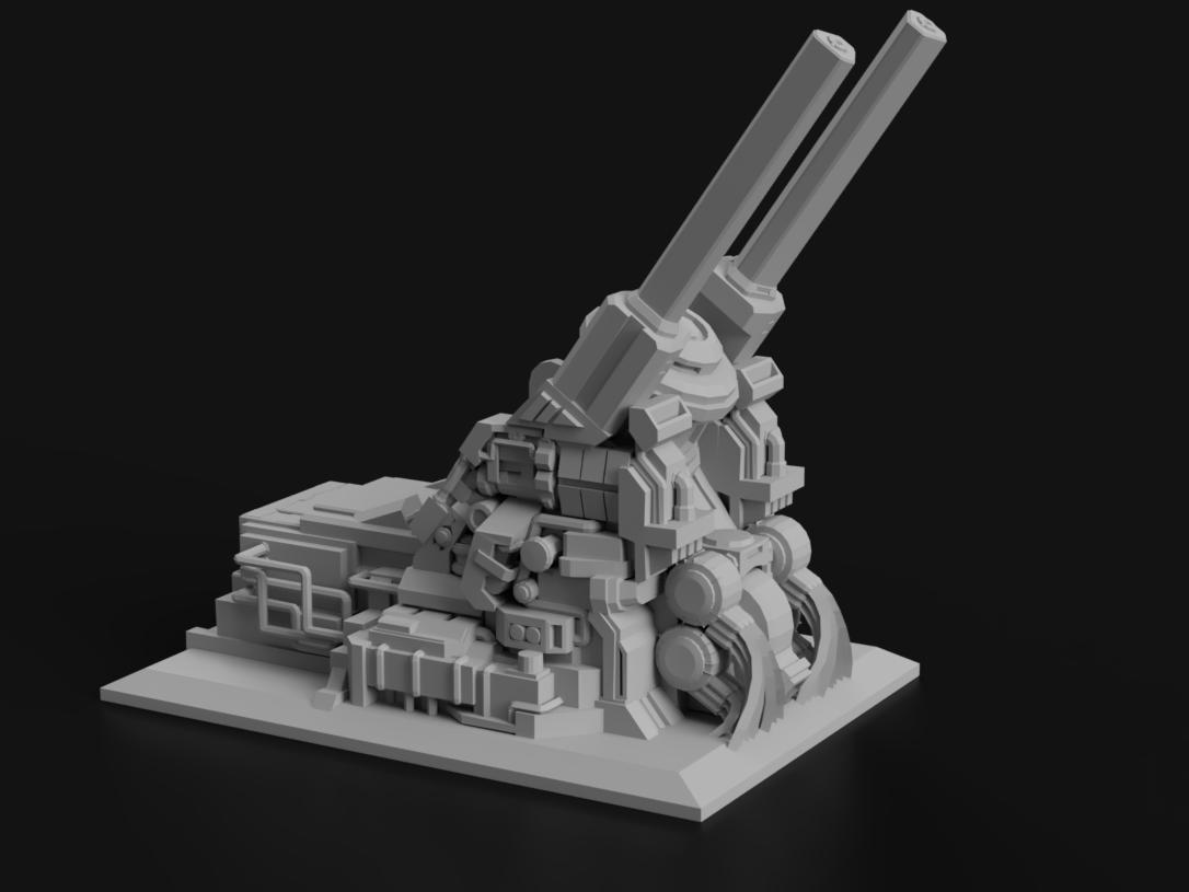 Orbital Defense Cannon