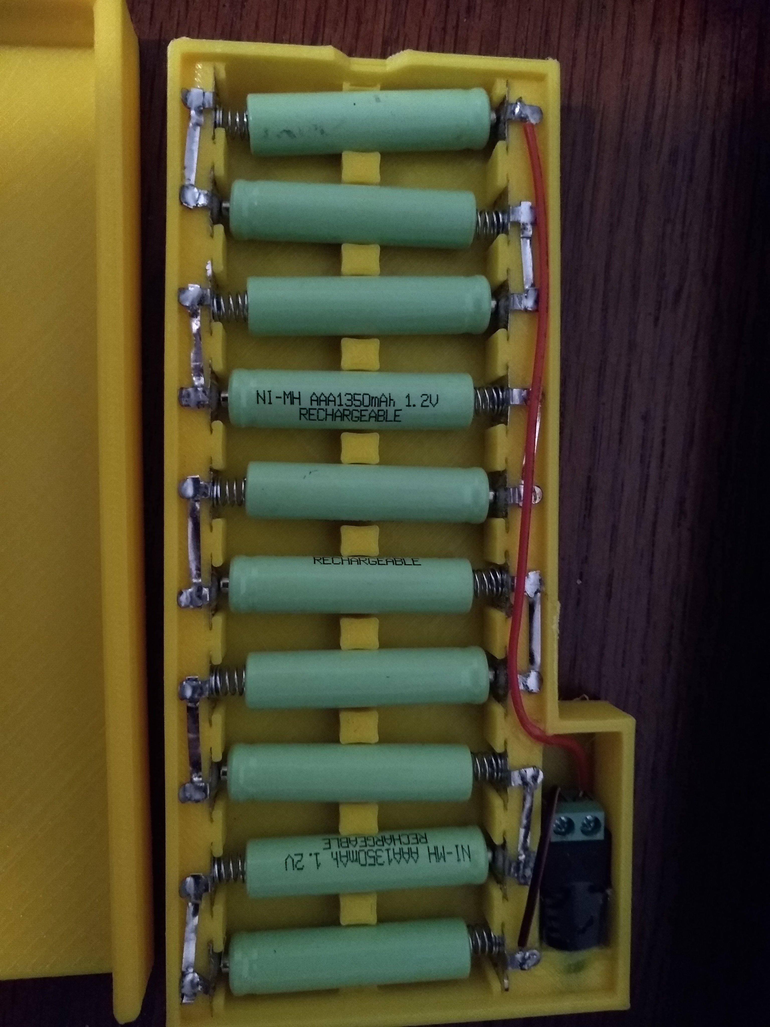 AAA NIMH 12 volt box