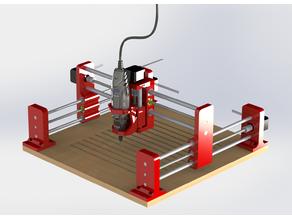 3D Printed Dremel CNC // Máquina CNC Dremel impresa en 3D