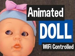 Animated WiFi Controlled Doll