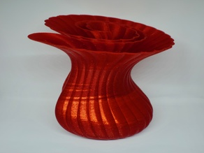 Tapered Monocoiled Vase