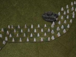 Dragons Teeth Tank Traps