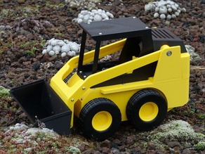 RC Skid loader (1:10 scale)