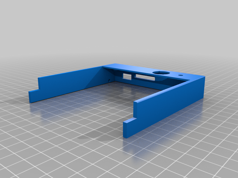 TFT70 V3.0 Case cutted for smaller Printbeds