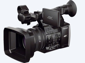 Sony FDR-AX1 ring mount