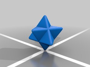 Star Tetrahedron (Rounded)