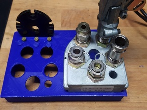 Simple and Double Dillon XL 650 Toolhead stand