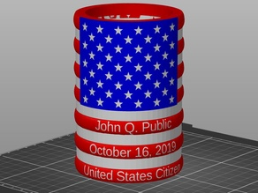 US Citizen Coozie Cup