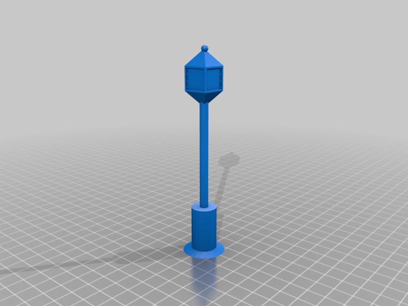Basic Street Lamp
