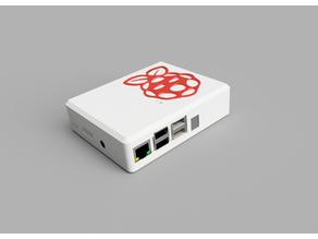 Raspberry Pi 3 Case with Homematic RPI-RF-MOD