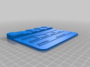 Clapper Slate (dual material)