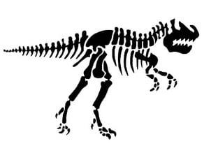 Fossil stencil