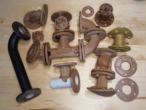 Decorative Plumbing for Steampunk Props