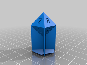 Wall Supported Dice Set v1.0