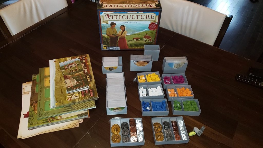 Viticulture And All Expansions Insert