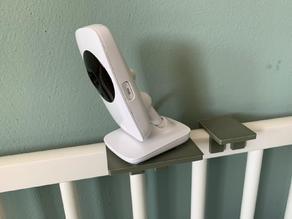 Baby Monitor platform mount for babybed