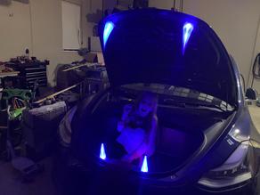LED Light up teeth for Tesla Frunk