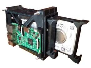 Modular 2.5 inch HDD rack HotSwap