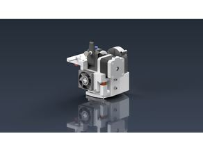 BMG direct mount for E3D v6, MGN12H with BLTouch