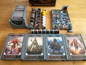 Gloomhaven: Jaws of the Lion Boardgame Box Inserts