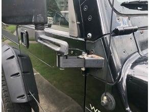 Jeep Wrangler TJ Mirror Extension Arm