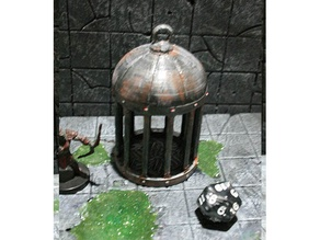 D&D Dice Prison or Jail with Lid for Dungeons & Dragons, Pathfinder or other Tabletop Games
